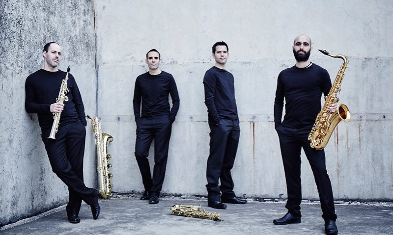 octavia-saxophone-quartet